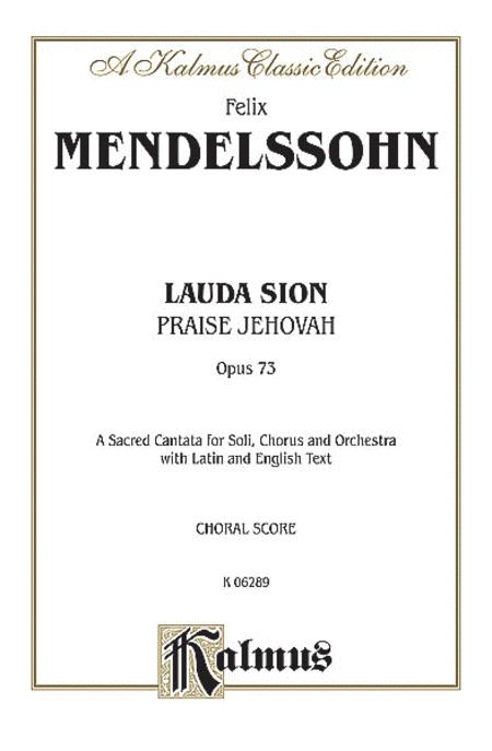 Lauda Sion, Op. 73