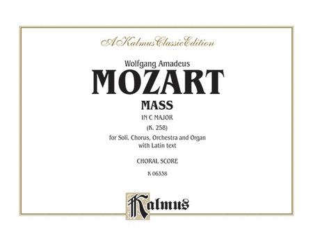 Mass in C Major, K. 258