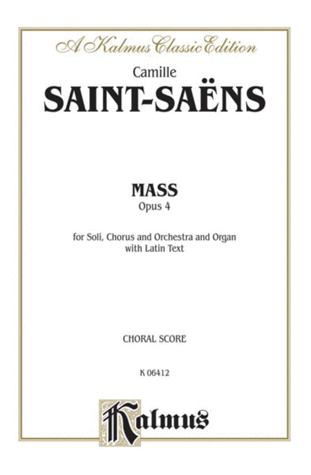Mass for Four Voices, Op. 4
