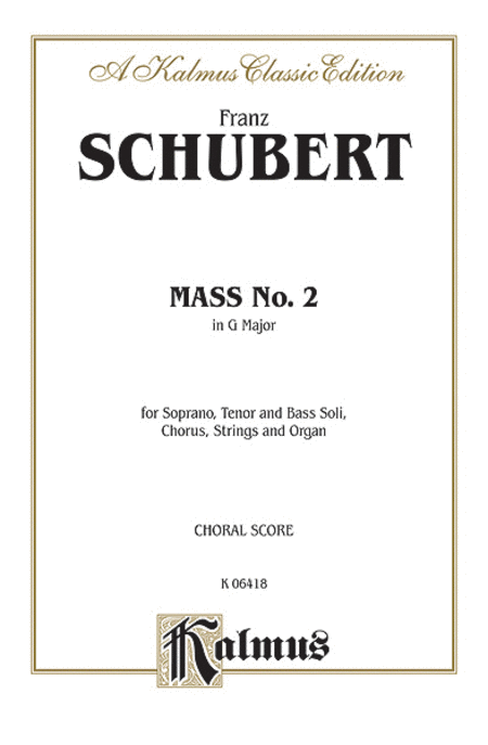 Mass No. 2 in G Major