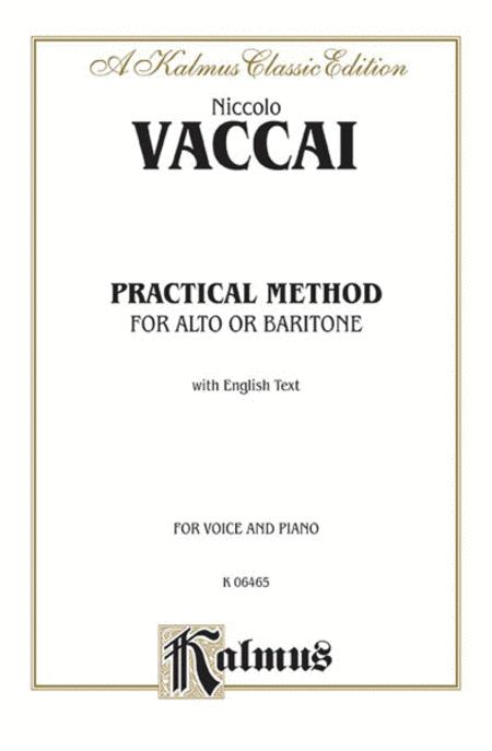 Practical Italian Vocal Method (Marzials)