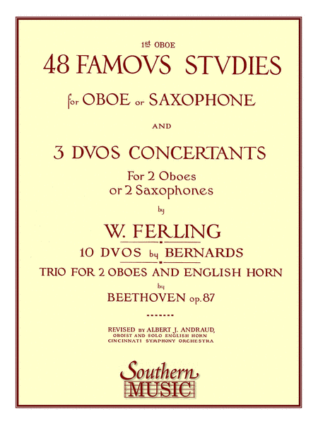 48 Famous Studies (1st Oboe Part)
