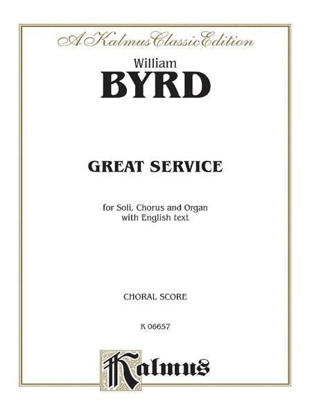 Great Service (Venite, Te Deum, Benedictus, Kyrie, Creed, Magnificat, Nunc Dimittis)