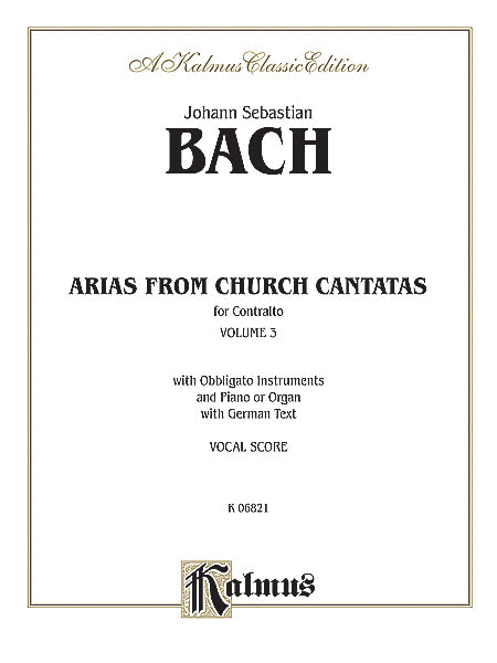 Contralto Arias, Volume 3