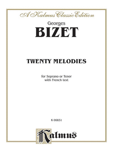 20 Melodies -- Soprano or Tenor