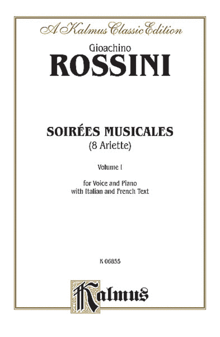 Soirees Musicales (for Voice & Piano), Nos. 1-8, Volume 1