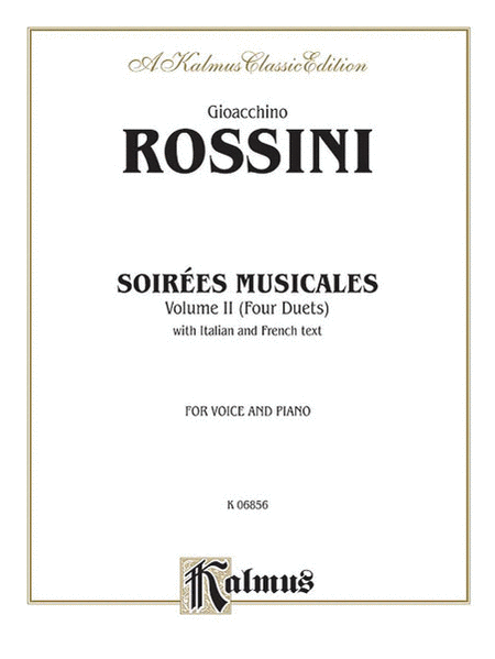 Soirees Musicales (4 Duets), Volume 2