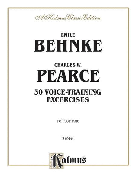 Thirty Voice-Training Exercises