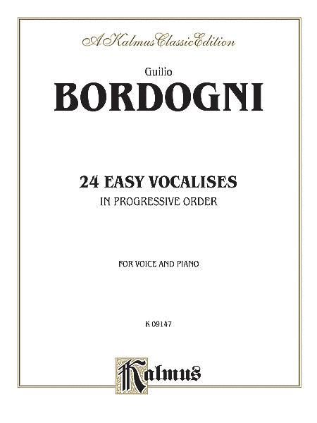 Twenty-four Easy Vocalises in Progressive Order