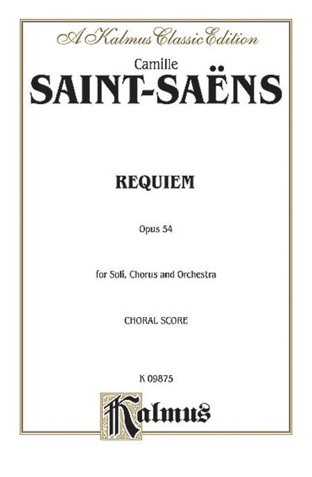 Requiem, Op. 54