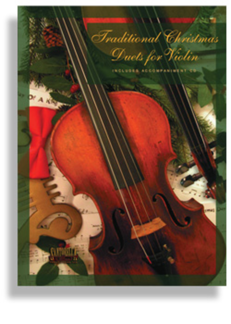 Traditional Christmas Duets for Violin (Book & CD)
