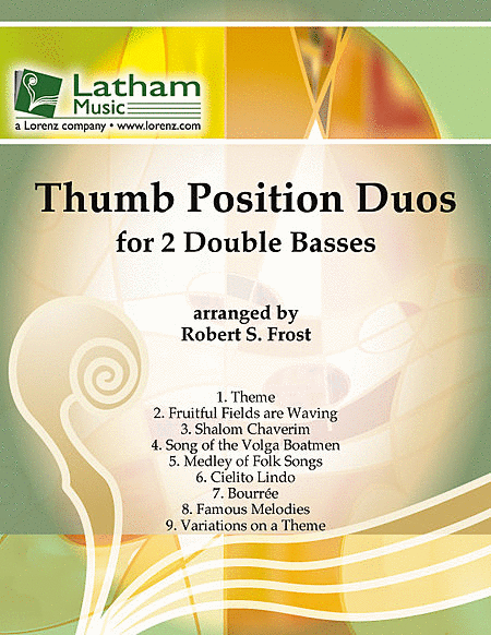 Thumb Position Duos for 2 Double Basses