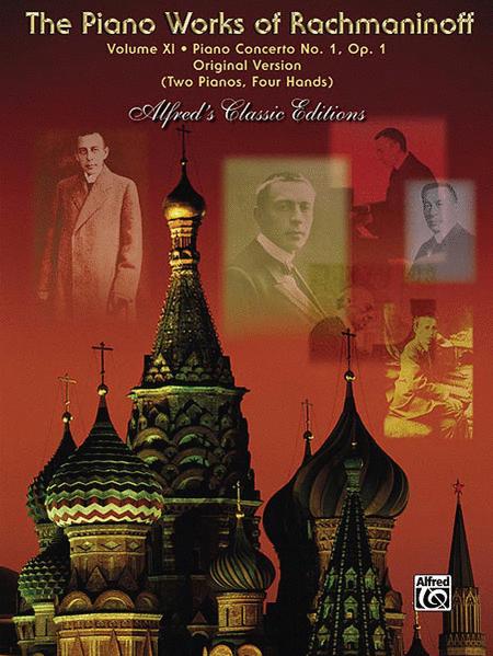 The Piano Works of Rachmaninoff, Volume XI