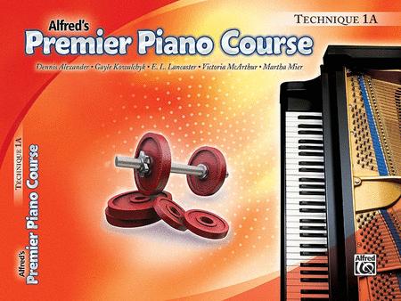 Premier Piano Course Technique, Book 1A