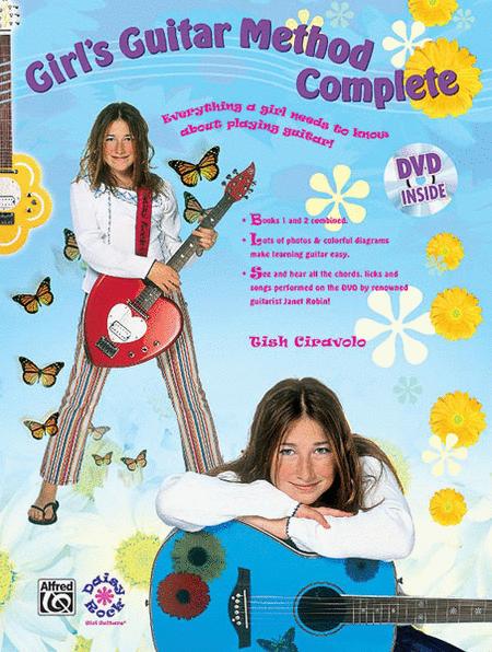 Girl's Guitar Method Complete (Book & DVD in sleeve case)