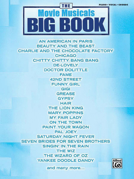 The Movie Musicals Big Book