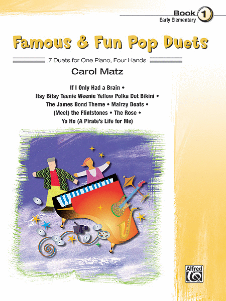 Famous & Fun Pop Duets - Book 1