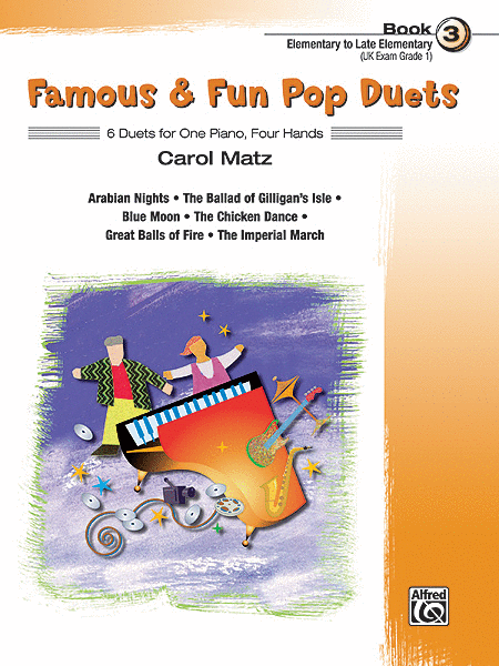 Famous & Fun Pop Duets - Book 3