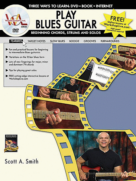 Play Blues Guitar -- Beginning Chords, Strums, and Solos