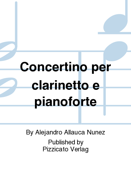 Concertino per clarinetto e pianoforte
