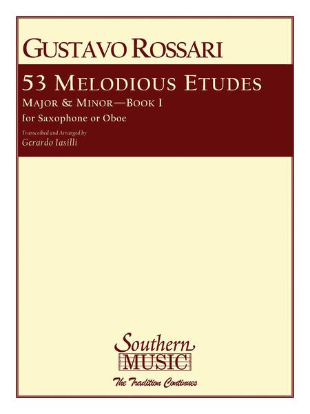 53 Melodious Etudes, Book 1