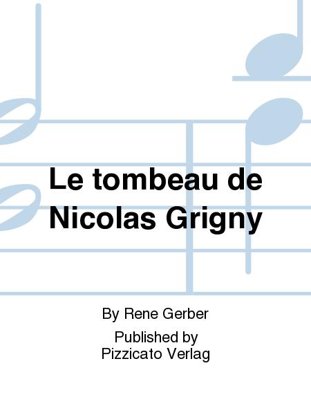 Le tombeau de Nicolas Grigny
