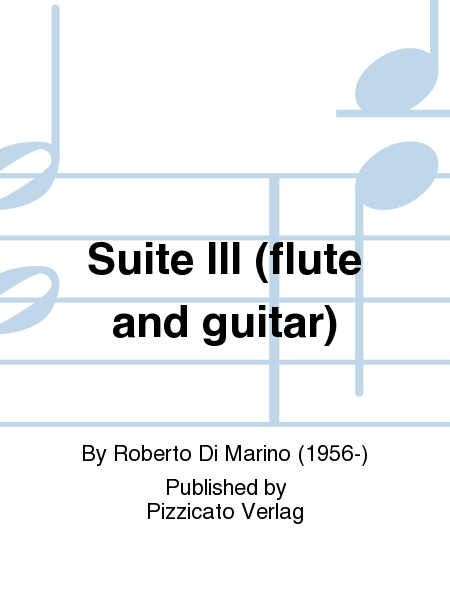 Suite III (flute and guitar)