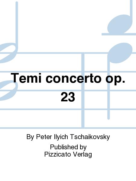 Temi concerto op. 23