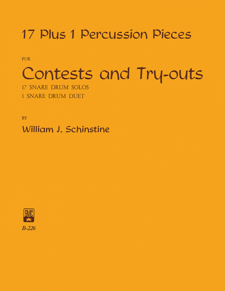 17 + 1 Percussion Pieces