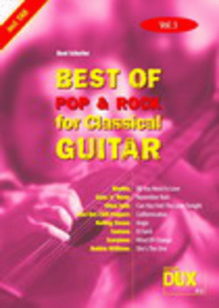 Best Of Pop & Rock for Classical Guitar 3