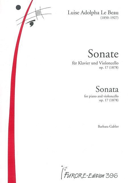 Sonate fur Violoncello und Klavier D-Dur op. 17