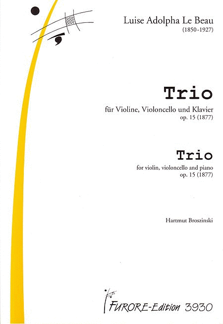 Trio d-Major op. 15 (1877)