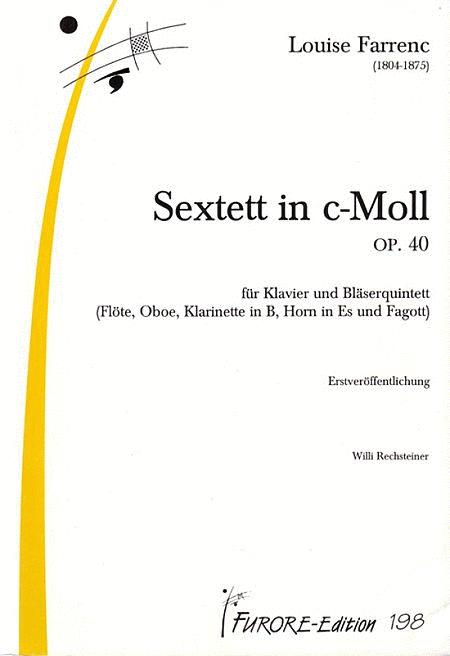 Sextett c-Moll op. 40