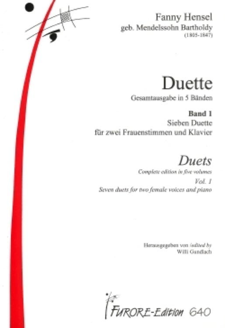 Duets Volume 1: Soprano/Soprano with piano