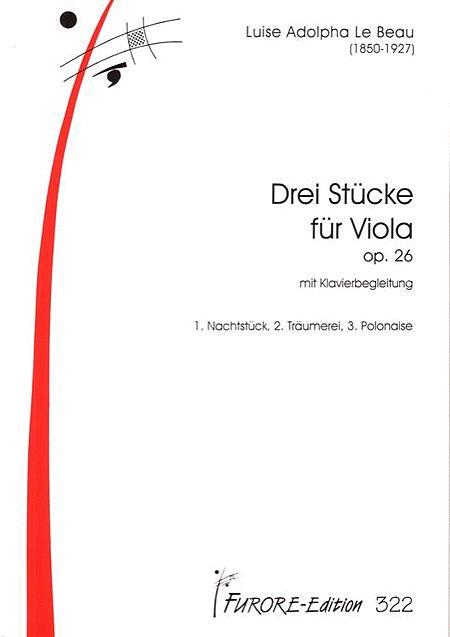 Drei Stucke fur Viola mit Klavierbegleitung