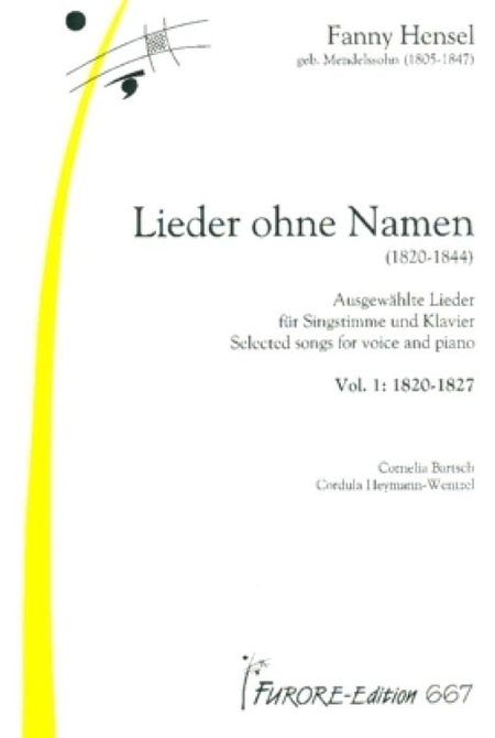 Lieder ohne Namen (1820-1844) - Volume 1 & 2