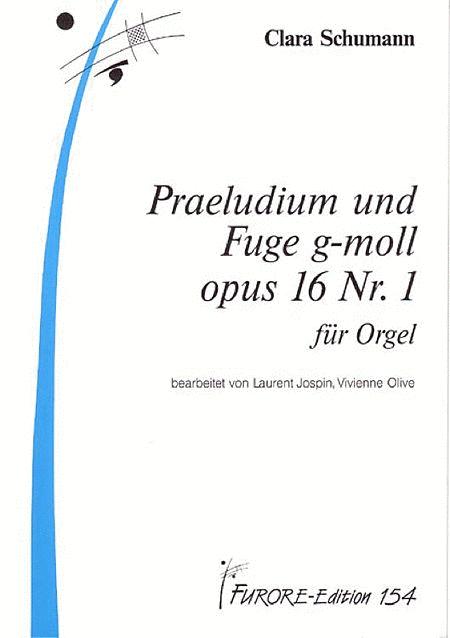 Praeludium und Fuge g-Moll op. 16.1