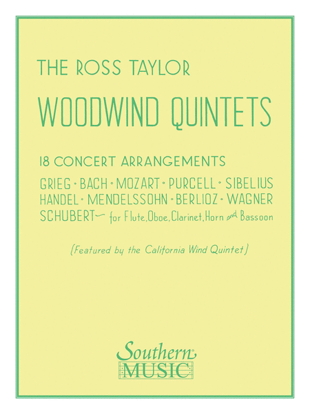 Ross Taylor Woodwind Quintets
