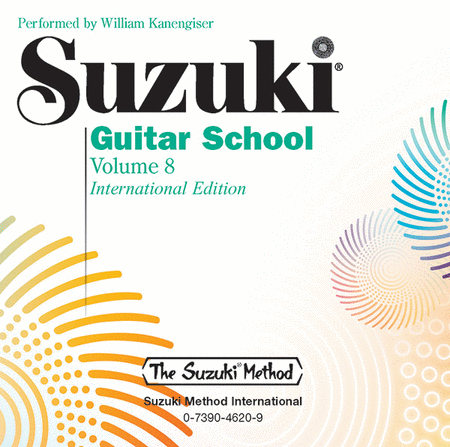 Suzuki Guitar School, Volume 8