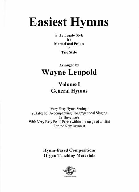 Easiest Hymns, Volume 1