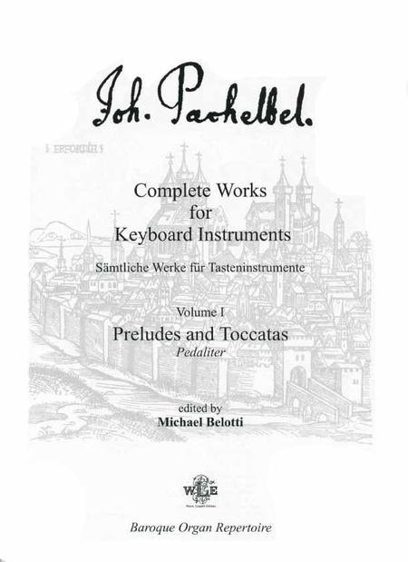 Complete Works for Keyboard Instruments, Volume I