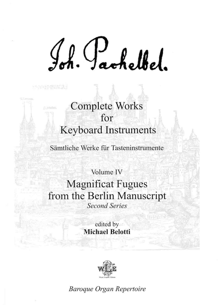 Complete Works for Keyboard Instruments, Volume IV