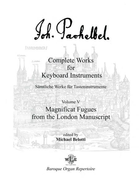 Complete Works for Keyboard Instruments, Volume V
