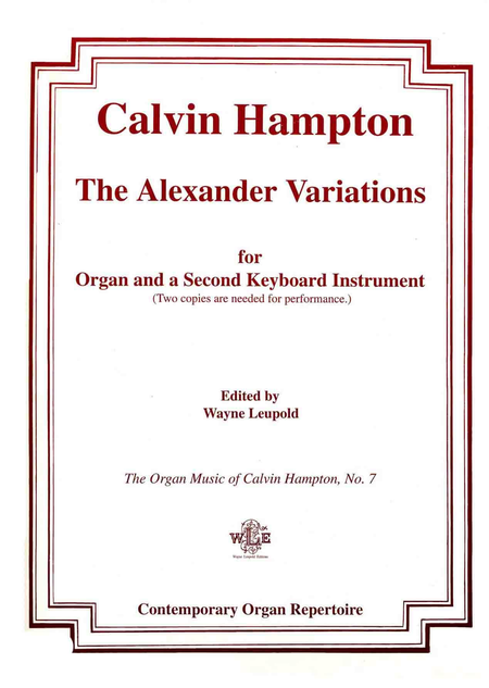 The Alexander Variations
