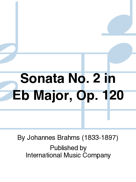 Sonata No. 2 in Eb Major, Op. 120