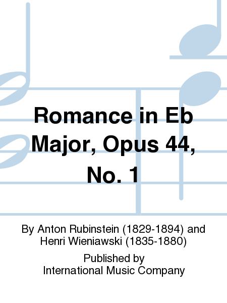 Romance in Eb Major, Opus 44, No. 1
