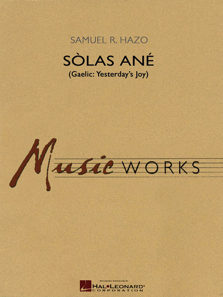 Solas Ane (Yesterday's Joy)