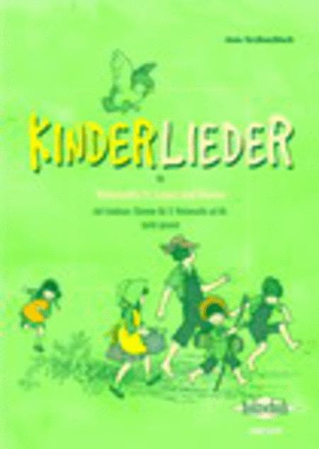 Kinderlieder fur Violoncello (1. Lage) und Klavier