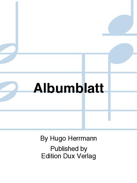 Albumblatt