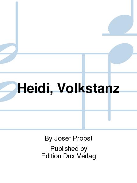 Heidi, Volkstanz